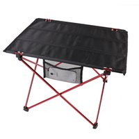 Wholesale Portable Aluminum Alloy Roll Up Folding Table Outdoor Camping Picnic Table Ultra light
