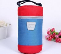 Wholesale New Students Insulation Cup Bag Baby Milk Bottle warmer Package Outdoor Protable Bag Bottle Cup Bag
