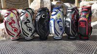 bags club - 2016 Fashion brand pu dance with dragon golf bag new dragon golf ball bags golf club bag professional men women bag