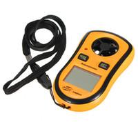 Wholesale Original BENETECH brand GM8908 Digital Hand held Wind Speed Gauge Meter Measure Anemometer Thermometer