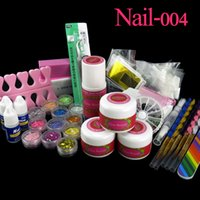 acrylic clear sheets - Clou Beaute White Pink Clear Acrylic Powder Liquid Stickers Buffer r Sheet Nail Glue Sanding Files