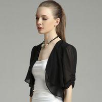 Wholesale Small shawl all match Chiffon cardigan coat conditioning sunscreen clothing
