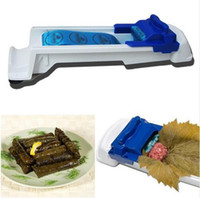Cheap 2016 Hot Creative Durable Stuffed Grape Cabbage Leaf Rolling Tools Gadget Roller Machine For Turkish Dolma Sushi Kitchen Bar free shipping