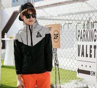 Wholesale Palace Jacket Men M Reflective Palace Skateboards Triangle Outdoor Sports Windproof Raincoat Raincoat Outerwear coat