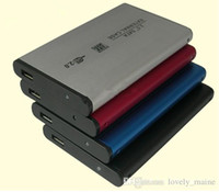 Wholesale Retail USB quot HDD SATA Hard Disk Drive Enclosure Case Cover Play And Plug HDD Promotion with box