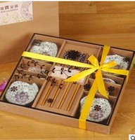 Wholesale Business gifts would marry little gifts ranging plate box tableware box sets a housewarming gift A168