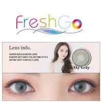 big circle lenses - Super size solotica like natural color contact lenses Big Eye Circle Lenses Ready stock