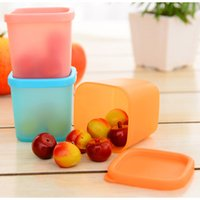 Wholesale 3 Refrigerator crisper sealed transparent plastic box kitchen sorting food storage box colors