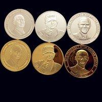 american president obama - Russian American President Obama Vladimir Putin Donald Trump Silver Gold Commemorative COIN
