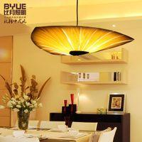 bamboo veneers - Fedex Bamboo Living Room Lights Restaurant Lamp Chinese Style Wooden Lamps Veneer Dining Room Lights