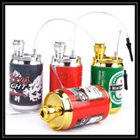 filter pop - 2016 Unique Design Pop Can Mini Hookah Metal Smoking Pipes Aluminum Alloy Metal Filter Hookah Bongs For Smoking Device DHL Free