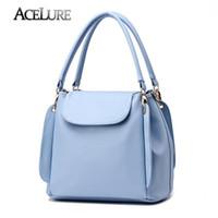 Wholesale Women Handbags Female Leisure Shoulder Bags PU Leather Totes Fashionable Ladies Messenger Bags Bolsa Feminina Handtassen