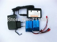 balancing propeller - 2pcs V Mah Lipo Battery Balance Charger Adapter Spare Parts For WLToys V912 Ch Single Propeller RC Helicopter