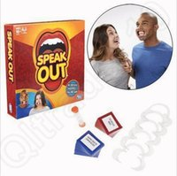 Wholesale Speak Out Board Game Mouthpiece Mouth Hasbro Interesting Party Challenge Game Christmas Toys For Kids OOA744