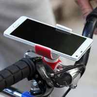 Wholesale Universal Degrees Air Vent Mount Bicycle Car Cell Phone Holder Stands for iPhone Mobile Phone Clip For Samsung HTC