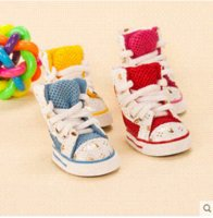 Wholesale 2015 spring summer shoes for dogs mesh small dog shoes teddy pet dog boots PT177 Cheap shoes latin