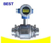 Wholesale Stainless steel health band type electromagnetic flowmeter milk Fruit juice DN20