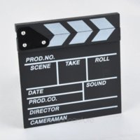 Wholesale 2015 Professional Studio Camera Photography Wood Director s Film Movie Slateboard Clapper Board Prop Hollywood photography inspiration