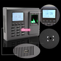 access control device - Hot selling Black white LCD Green Red LED Indicator fingerprint access control device biometric access controller