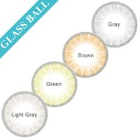 Wholesale Hot Glass Ball Color Contacts Big Eye Cosmetic Contact Lenses Gray Contacts