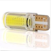acura blue - 100PCS T10 W5W COB smd Silica Gel Led Car Interior Door Light Bulb NEW