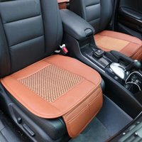 Wholesale Universal Car Seat Pad PU Leather Car Seat Covers Front Seat Cushions for Auto Car Office Chairs