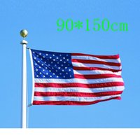 american flag pennant - Large cm ft American National Flag USA Flying Flag US Pennant Banner Patriot Flag No Flagpole