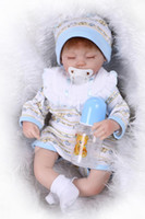 amazing baby clothes - 43cm Boneca Reborn Realista With Lovely Reborn Babies Clothes The Amazing Birthday Gift For Little Girl As Toy And Friend