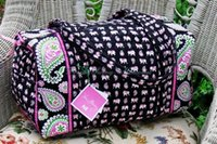 Wholesale Vera radley VB large luggage classic American style Large Duffel Travel Bag