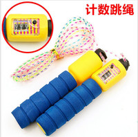 Wholesale New Adjustable cm Fitness Crossfit Skipping Rope Speed counting Jump Rope Gym Training Sports Exercise