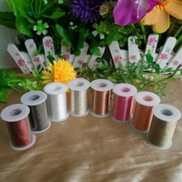 assorted pictures - DHL SF EXPRESS Assorted Color Polyester Sewing Thread Red Black Brown White Pink Multi color Sewing Thread Available