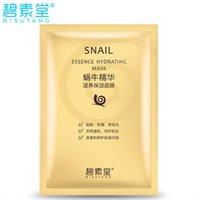 Wholesale Skin Care Masks Peels Facial Mask Sheet Face Tender Skin Moisturizing Whitening Anti aging Snail Essence Hydrating Masks