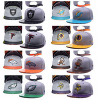 Wholesale 2016 Cheap Football Team Caps Sports Snapbacks Women Men Caps Fashion Hats Team Snapback Hats Adjustable Hats Flat Caps for Sale