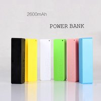bank charger for galaxy - 2600mAh Power Bank mAh USB Power Bank Portable External Battery Charger for Iphone S Plus Samsung Galaxy Charger