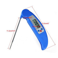 Wholesale new Digital Electronic BBQ Thermometer with Collapsible Internal Probe Colors