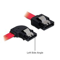 angle latching sata - 30CM Straight to Left Side Angle Gb s SATA3 Serial ATA DATA cable with latch for PC SATA SATAIII Gbps Hard Drive Disk SSD