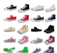 Precio de Hombres zapatos nuevos estilos-2017 caliente nuevo 13 en color todo el tamaño 35-45 Low estrellas del deporte del estilo / zapatos de lona de las mujeres de la lona clásica mandril zapatillas de deporte de los hombres