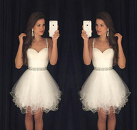 Wholesale Short Mini Cheap Homecoming Dresses Spaghetti Sweetheart Tulle Prom Dresses Under Different Colors Available Prom Party Dresses
