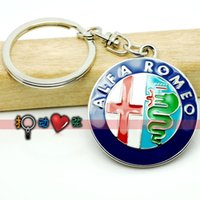 Wholesale Fashion Jewelry Key Chains Alfaromeo alfa romeo car emblem keychain keychain photo keychain digital emblem toyota