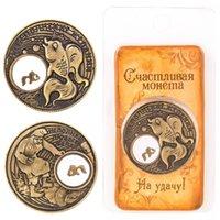 ancient souvenirs - Christmas Souvenir goldfish COINS Festival Gifts metal coin Keepsake Ancient charm coin album quot On fulfillment of desires quot