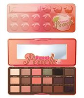 Wholesale Good price New Makeup Eye Limited Edition Sweet Peach Palette Colors Eyeshadow