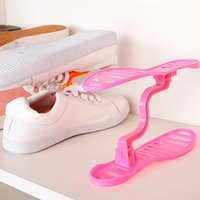 Wholesale Brand Creative Design Space Save Shoes Rack Shoe Storage Shelf Shoes Rack Organizer Houshold
