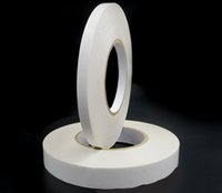 Wholesale High Intensity Heat Resists White Non woven Double sided Adhesive Double sided Adhesive mm White Non woven Double sided Adhesive