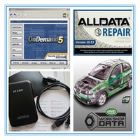Wholesale Latest alldata diagnostic tool alldata mitchell Vivid WorkshopData GB hdd auto repair software fast shipping