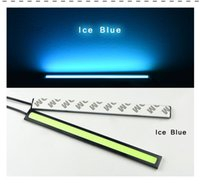 Wholesale 1Pcs New update Ultra Bright LED Daytime Running lights DC V cm Waterproof Auto Car DRL Bar light Driving Fog lamp