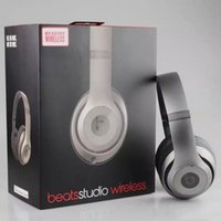 Wholesale 2016 Used Studio Wireless Headphone Noise Cancel Bluetooth Headphones Headset with seal retail box Solo Headphones