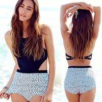 MOXIAN / Scale corps maillot de bain bikini parfaite 2016 femmes aiment les modèles d'explosion de mode lancé haut de gamme d'impression numérique couleur noire S-XL 00330