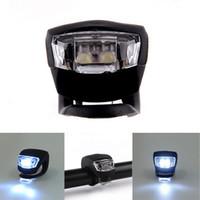 Wholesale Black Kong Strobe Headlight night modes Set Bicycle Bike white Light sports cycle Solid Durable waterproof
