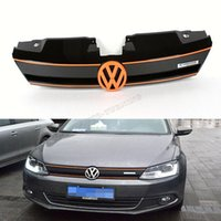 Wholesale MK6 ABS car front grill grille for VW JETTA MK6 standard bumper