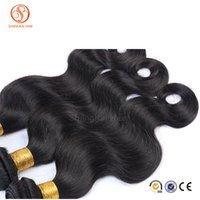 Wholesale Grade A Brazilian Hair Weave Body Wave Peruvian Malaysian Indian Human Hair Weave g More Thicker Virgin Hair Extensions